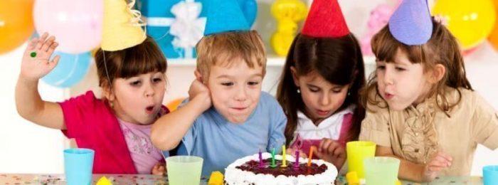Видеосъемка дня рождения ребенка