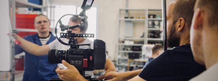 Разработка презентационных фильмов