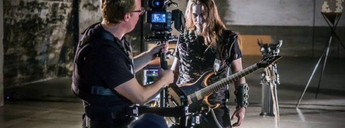 Съемка рок клипа